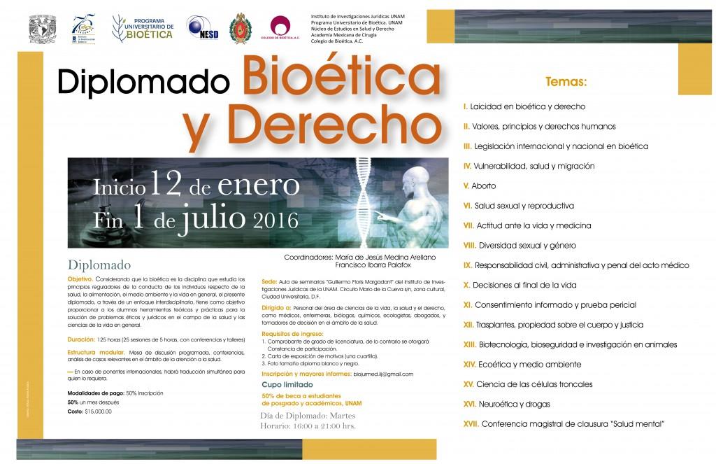 Diplomado Bioetica y Derecho