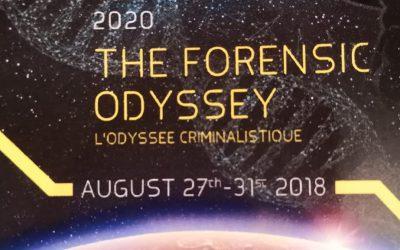 La Licenciatura en Ciencia Forense en la 8th European Academy of Forensic Science Conference