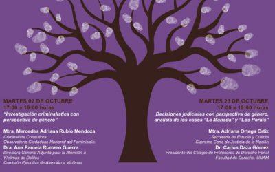 """Seminario Bioética y Ciencia Forense: """"Análisis científico forense desde la perspectiva de la bioética y el género"""""""