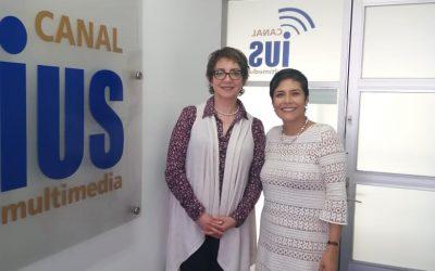 """Mundo Forense, invitada:  Dra. Guadalupe Sánchez Bringas, tema: """"La Unidad de Microscopía"""""""