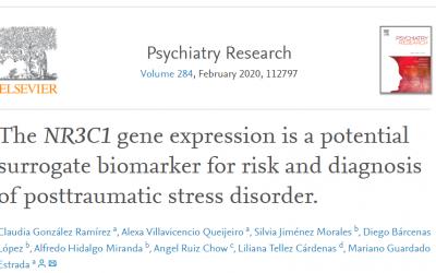 Publicación de la LCF sobre la búsqueda e identificación de biomarcadores para el diagnóstico del Trastorno por Estrés Postraumático