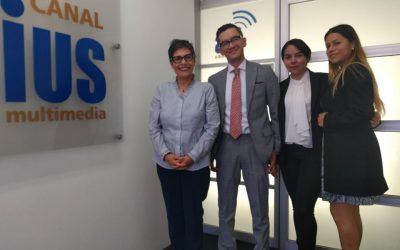 "Mundo Forense. Invitado:Dr. Héctor Manuel Guzmán Ruiz,tema: ""Sana crítica"""
