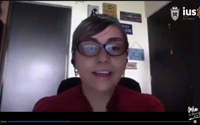 Mundo Forense, invitada: Dra. Ingrid Vargas, tema: salud mental en el contexto de la pandemia.