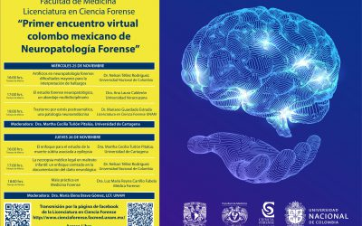"Videos del ""Primer encuentro virtual colombo mexicano de Neuropatología Forense"""