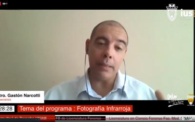 """Mundo Forense  invitado: Lic. Narcotti Gastón,  tema: """"Fotografía infrarroja"""""""