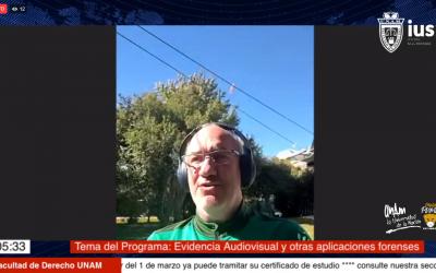"Mundo Forense, invitado: Dr. Rodolfo Guillermo Pregliasco, tema: ""Evidencia audiovisual y otras aplicaciones forenses"""