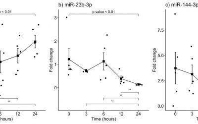 Artículo original de la LCF: Dysregulation of miR-381-3p and miR-23b-3p in skeletal muscle could be a possible estimator of early post-mortem interval in rats.