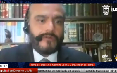 """Mundo Forense. Invitado: Dr. José Antonio Álvarez León, tema: """"Conflicto vecinal y prevención del delito"""""""