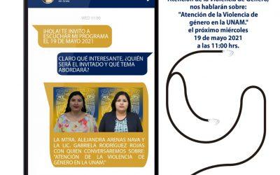 """Mundo Forense, invitadas: Alejandra Arenas Nava y Gabriela Rodríguez Rojas, tema: """"Atención de la violencia de Género en la UNAM"""""""