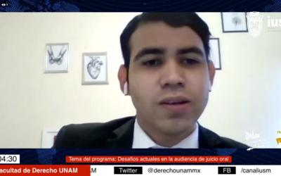 """Mundo Forense, invitado Mtro. Francisco Ibarra, tema:""""Desafíos actuales para demostrar la acusación en la audiencia de juicio oral: la importancia de la ciencia forense"""""""