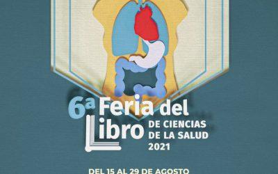 La LCF en la 6a Feria del Libro de Ciencias de la Salud 2021
