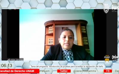 Mundo Forense, Invitada: Mtra. Hilda Sánchez Quiroz, tema: Introducción de pruebas para acreditar la reparación del daño